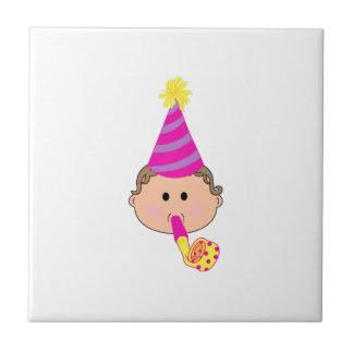 BIRTHDAY BABY CERAMIC TILE