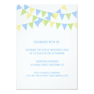 Birthday Balloon Invitation