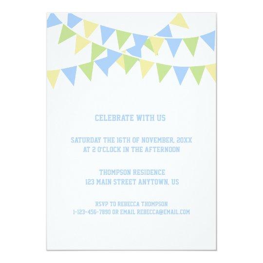 Birthday Balloon Invitation