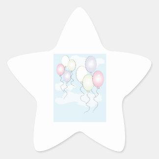Birthday Balloons Sticker