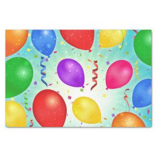Birthday Balloons Tissue Paper