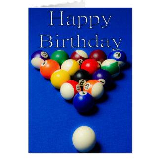 Birthday Balls Card