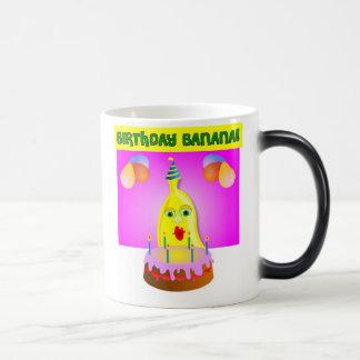 Birthday Banana 11 Oz Magic Heat Color-Changing Coffee Mug
