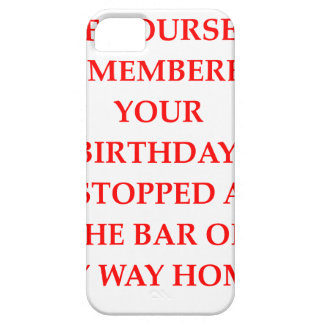 birthday barely there iPhone 5 case