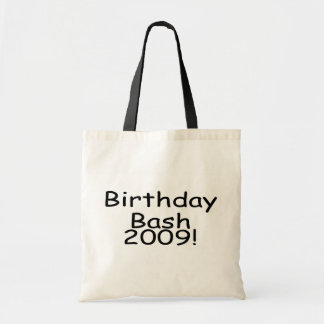 Birthday Bash 2009 Tote Bags