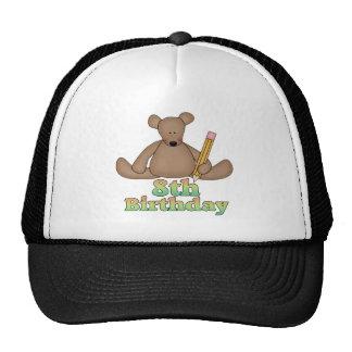 Birthday Bear 8th Birthday Gifts Cap