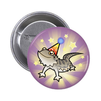 Birthday Bearded Dragon / Rankin Dragon 6 Cm Round Badge