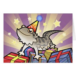 Birthday Bearded Dragon / Rankin Dragon Card