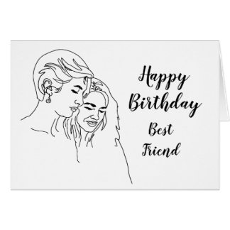 Birthday Best Friend Which One Bad Influence Humor Card