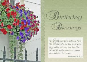 Bible Verses Birthday Cards | Zazzle com au