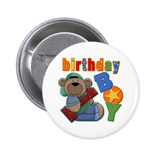 Birthday Boy 1st Birthday Pin