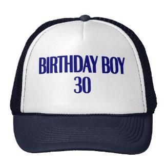 Birthday Boy 30 Hats