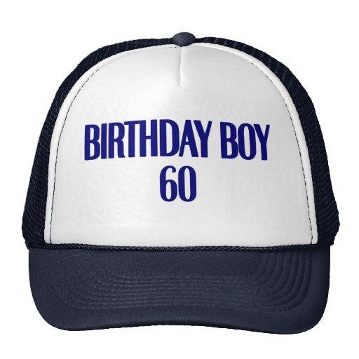 Birthday Boy 60 Trucker Hats