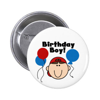 Birthday Boy 6 Cm Round Badge