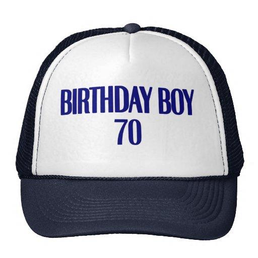 Birthday Boy 70 Hats