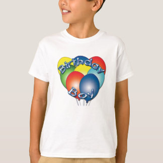 Birthday Boy Balloons T-Shirt