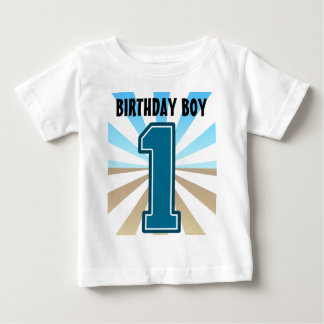 Birthday Boy, Big Number One, First B-day Tshirt