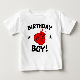 Birthday Boy Boxing Baby T-Shirt