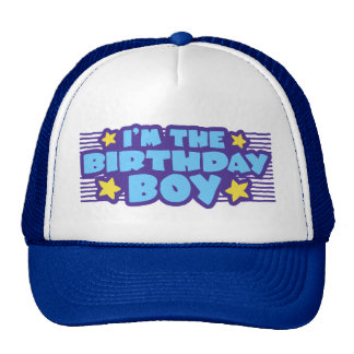 Birthday Boy Cap