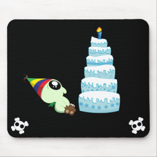 Birthday Boy Cthulhu Mouse Pad