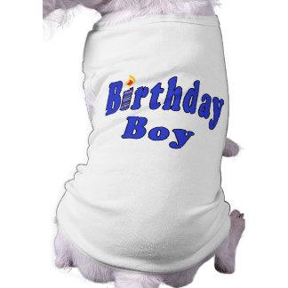 Birthday Boy Dog Tshirt
