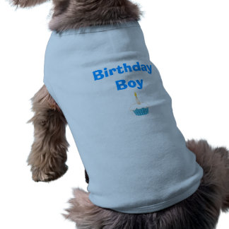 Birthday Boy Dog T Shirt