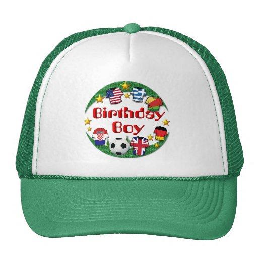 Birthday Boy  Football Design ~  Hat