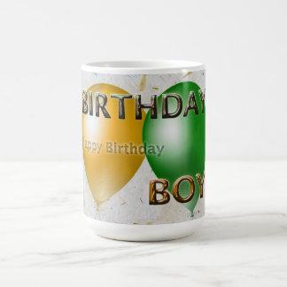 Birthday Boy Happy Birthday Basic White Mug