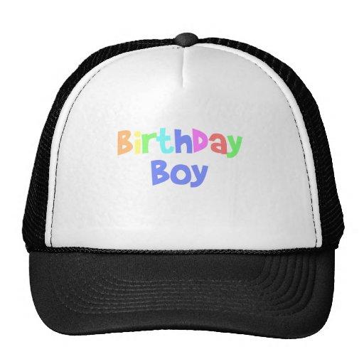 Birthday Boy Mesh Hats