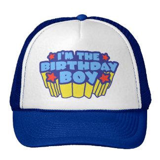 Birthday Boy Trucker Hats