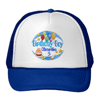 Birthday Boy ~ Hat # 2