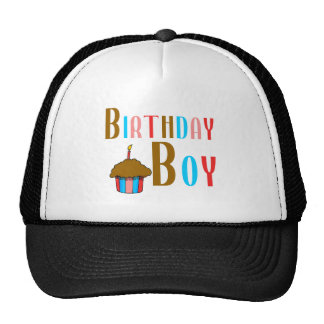 Birthday Boy Multicolored Products Trucker Hats