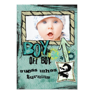 Birthday Boy party invite
