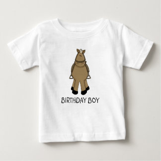 Birthday Boy - Pony Baby T-Shirt