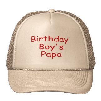 Birthday Boy s Papa Mesh Hats