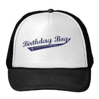 Birthday boy team tshirt cap