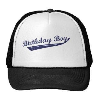 Birthday boy team tshirt trucker hat