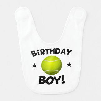 Birthday Boy Tennis Bib