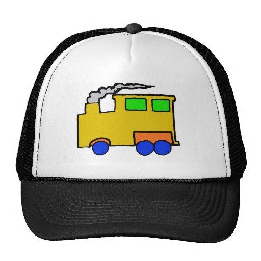 Birthday Boy Train Art Hat