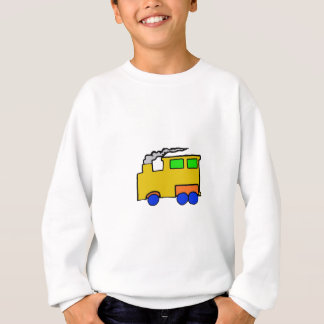 Birthday Boy Train Art Sweatshirt