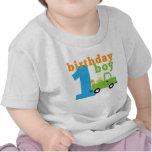 Birthday Boy Truck 1 Tee Shirts