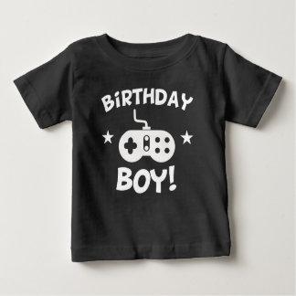 Birthday Boy Video Games Baby T-Shirt