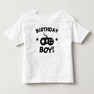 Birthday Boy Video Games Toddler T-Shirt