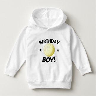 Birthday Boy Volleyball Hoodie