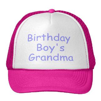 Birthday Boy's Grandma Cap
