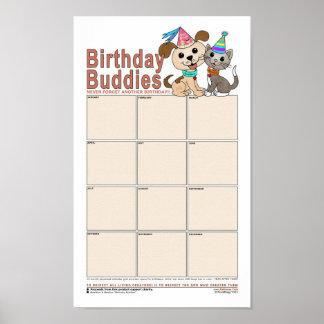 Birthday Buddies Poster