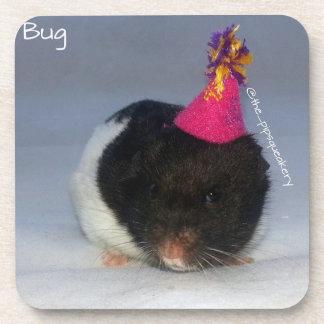 Birthday Bug Drink Coaster
