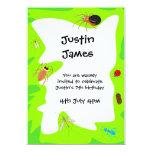Birthday Bugs Party Invitation