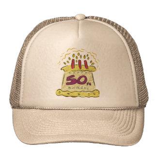 Birthday Cake 50th Birthday Gifts Cap