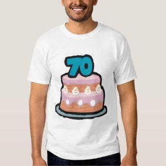 Birthday Cake 70th Birthday Gifts Tshirts